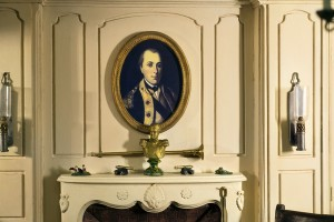I use this room as a teaching tool to talk about the role General Lafayette played in the American revolution.